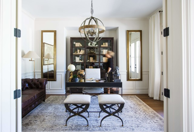 The Hampton Model Home Transitional Home Office