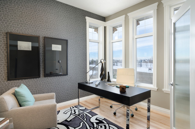 The Logan Showhome (Calgary, Alberta) contemporary-home-office