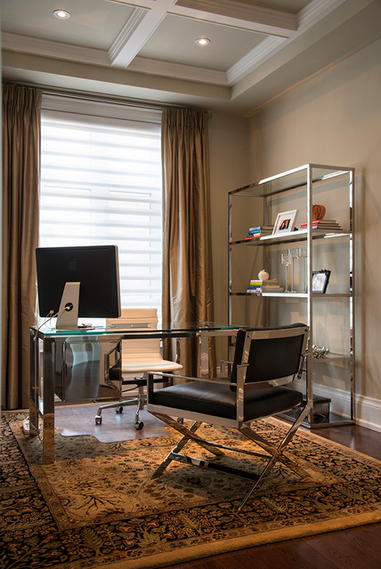 the new traditional contemporary home office