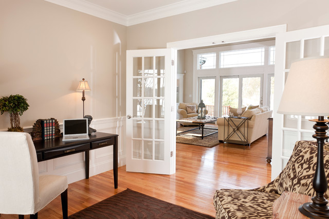 The Residences at Black Rock - Traditional - Home Office - Boston ...