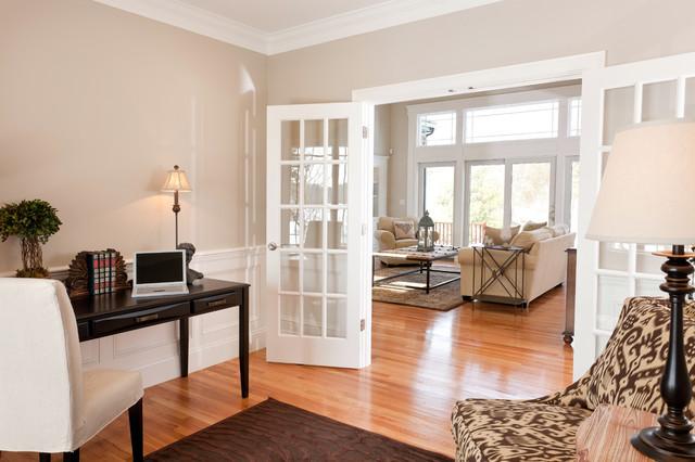 Living Room French Door   Houzz