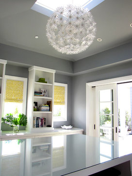 The Sandberg Home eclectic home office