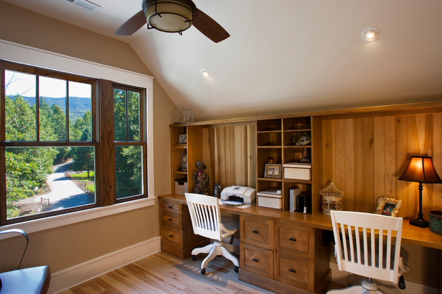 The Village Of Cheshire Home Craftsman Home Office
