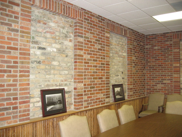 Thin Brick by General Shale traditional-home-office