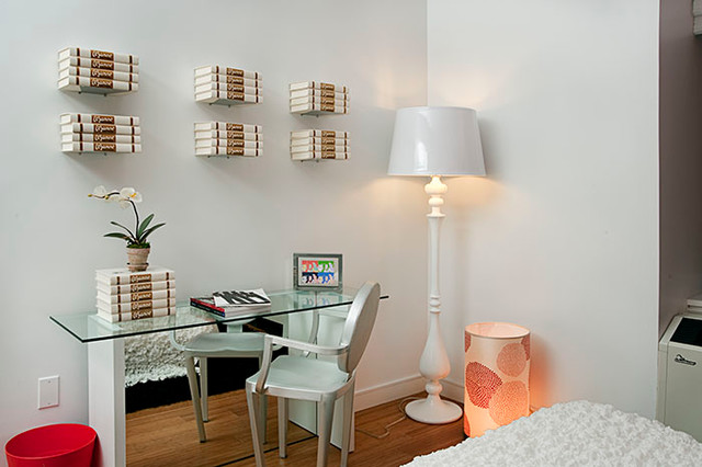 Toll brothers - One bedroom residence contemporary-home-office