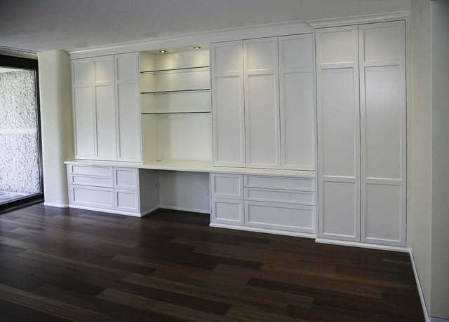 toronto built ins traditional home office toronto