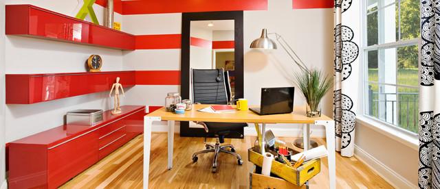 Towson Green contemporary-home-office