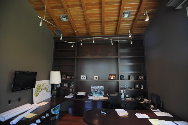 Track Lighting And Installations Contemporary Home Office And Library