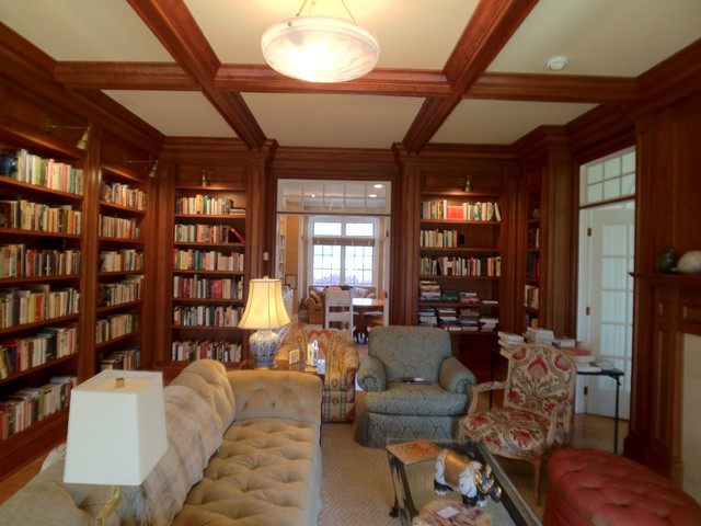 Tradition Cherry Library traditional-home-office
