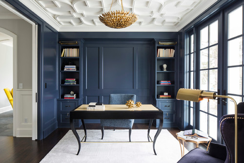 best navy blue paint colorRemodelaholic  Color Spotlight Benjamin Moore Hale Navy