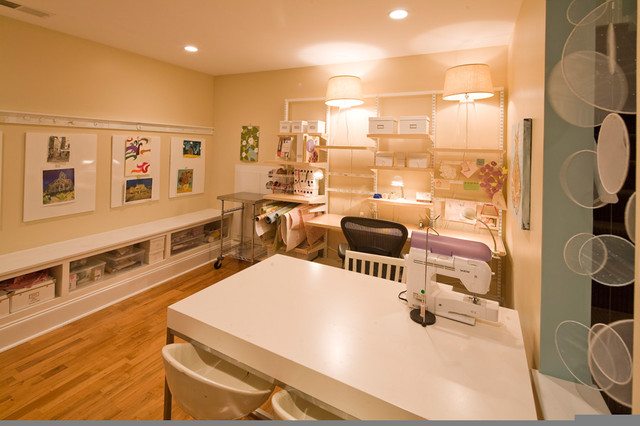 howell mill basement build out traditional home office basement home office