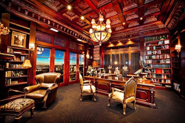 The Mahogany And Expanse Of Room