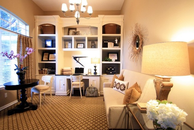 Shari Misturak IN Studio & Co. Interiors traditional-home-office