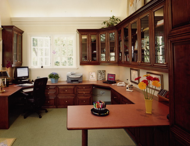 Traditional Home Office traditional-home-office