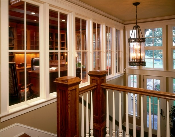 Home office - traditional home office idea in Minneapolis