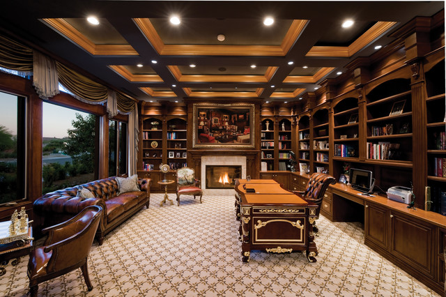 breathtaking home office designs layouts | 04104_Private Residence
