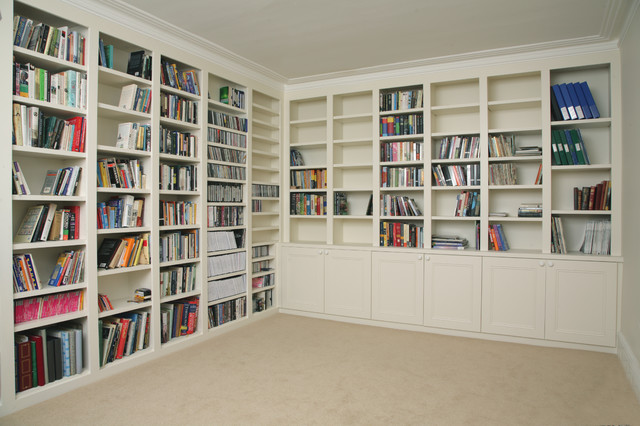traditional made to measure bookcases in uk