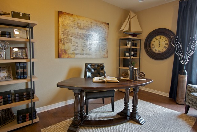 Ordinaire Traditional Model Home Traditional Home Office