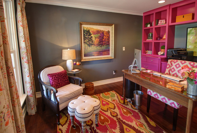 Transformational Farmhouse Remodel And Additions traditional-home-office