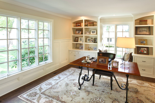 Transformed Home E traditional-home-office