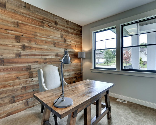 Wonderful 42 Awesome Rustic Home Office Designs  DigsDigs