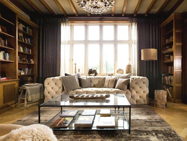 Transitional Family Room transitional-family-room