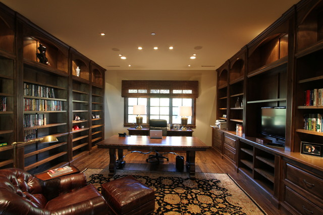 Past Projects transitional-home-office