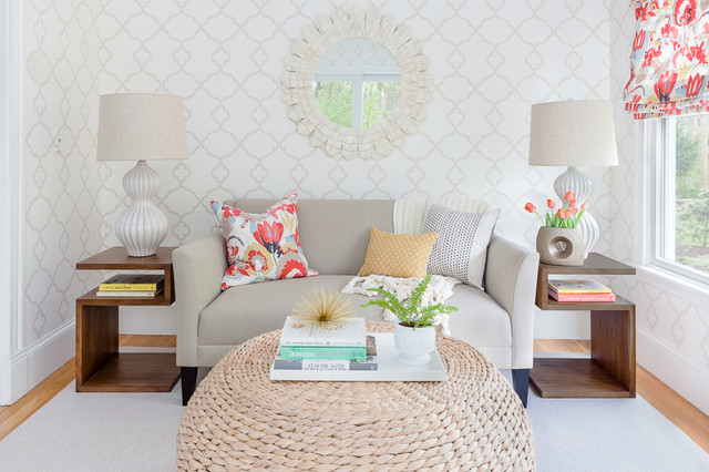 Transitional Wellesley home-office