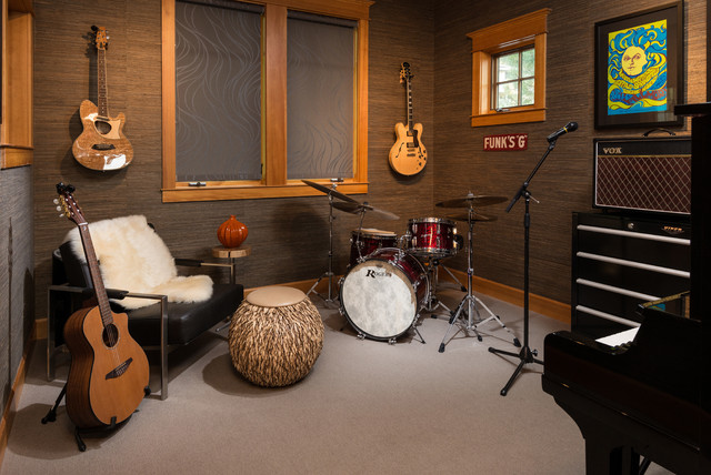 Trenton Avenue   Residential Music Lounge - Eclectic - Home ...