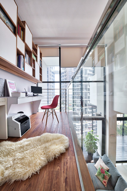 Triling Loft 3 Bedders Contemporary Home Office And Library