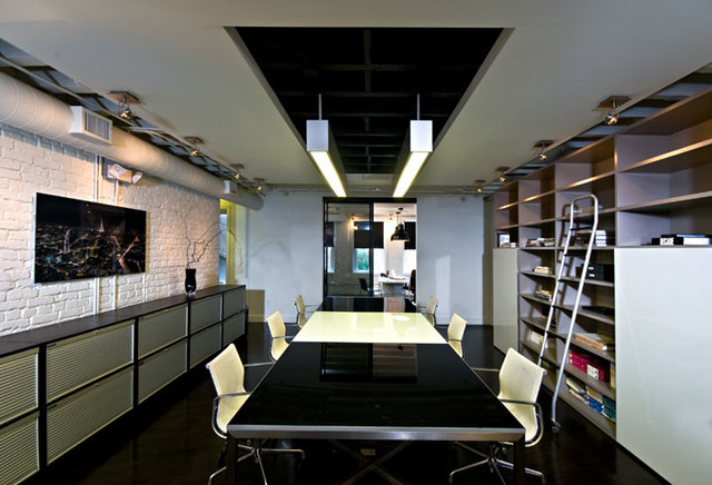 TriVistaUSA | From Ugly To Edgy modern-home-office