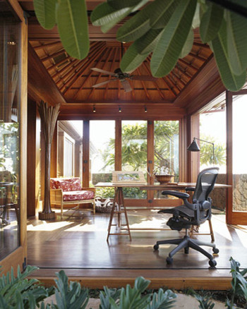 Tropical Home Office tropical-home-office