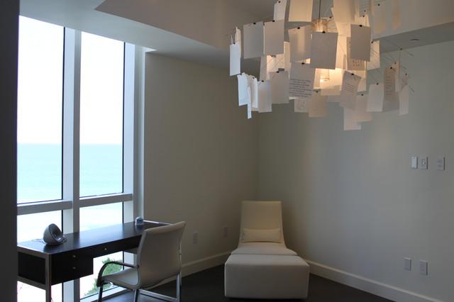 Trump Tower I -Sunny Isles Beach contemporary-home-office