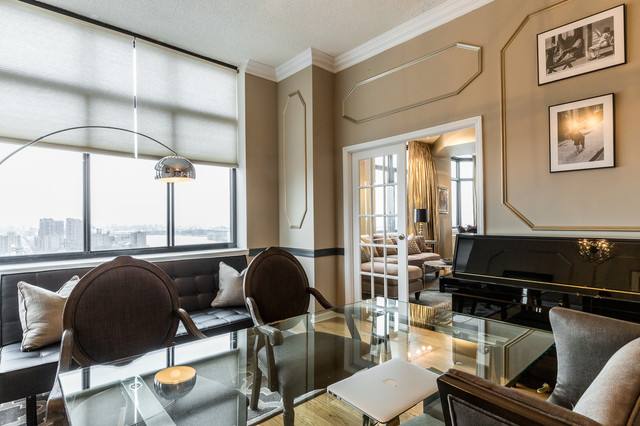 Upper east side penthouse shabby chic style home for Upper east side penthouses for sale