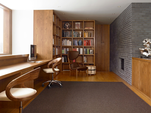 Upstate new york residence contemporary home office for Home office design ltd
