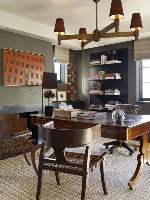Urban Living - Pacific Heights contemporary home office