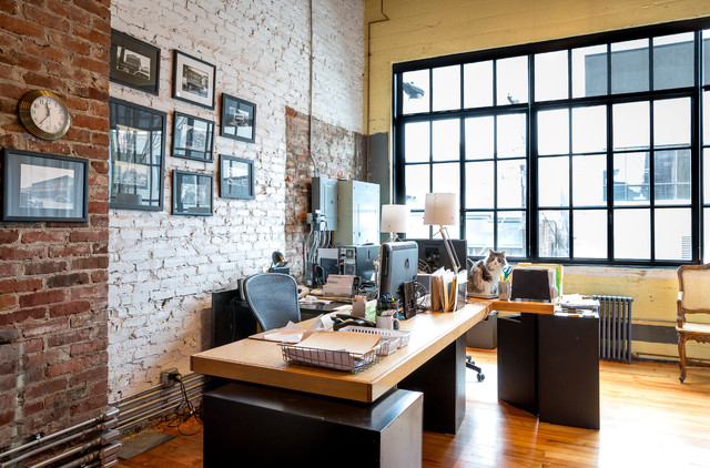 Urban Loft Industrial Home Office Seattle By Crescent Builds