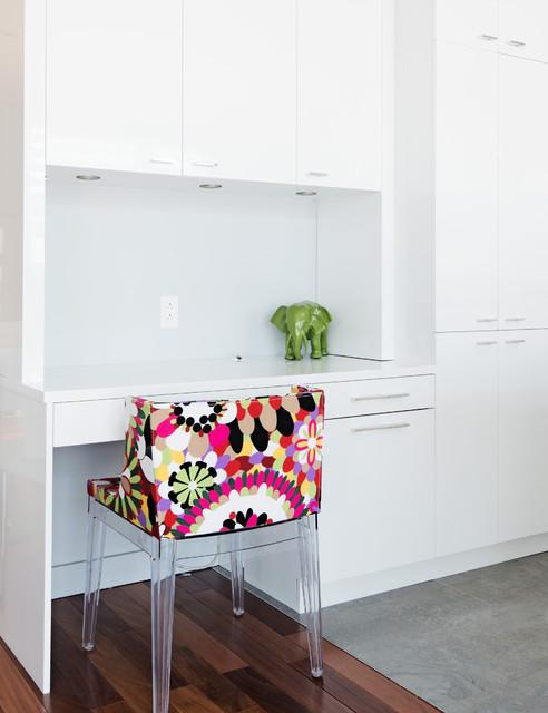 Urbanico / Kim Lapointe Designer House in Laval Quebec contemporary-home-office
