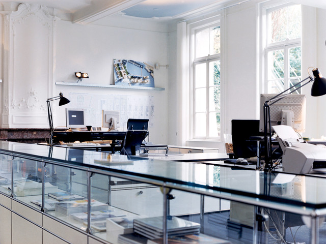 USM Modular Furniture - Modern - Home Office - chicago - by Haute ...