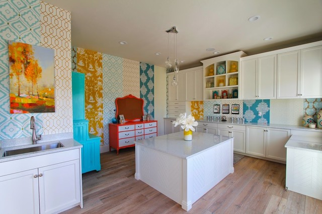 Utah Valley Parade Of Homes Craft Room