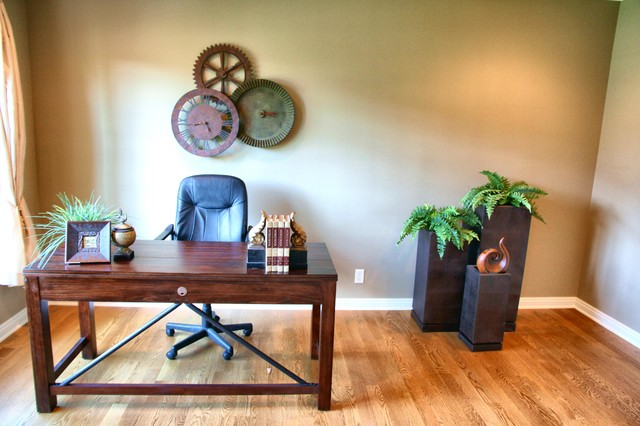 Awesome Contemporary Omaha Home Office Design Ideas Remodels Amp Photos
