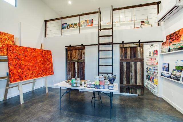 Vada Dr. Art Studio contemporary-home-office
