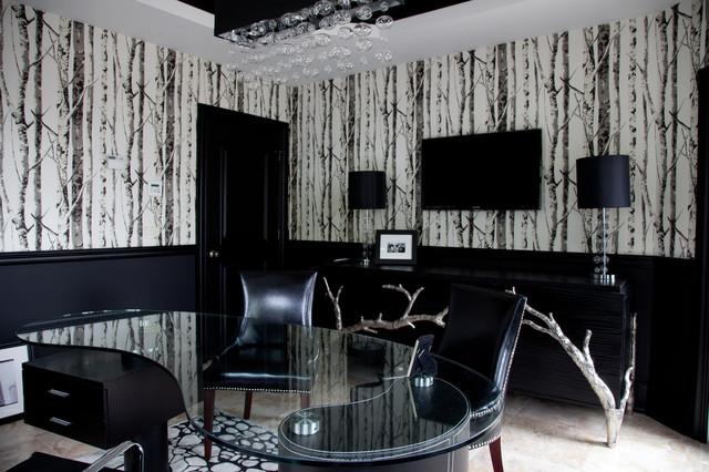 Vanessa DeLeon contemporary-home-office