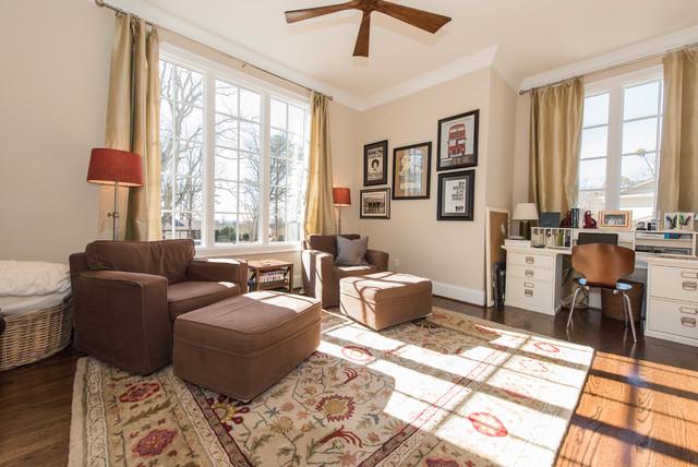 Vestavia Fixer Upper Modern Home Office Birmingham By Drake Homes LLC