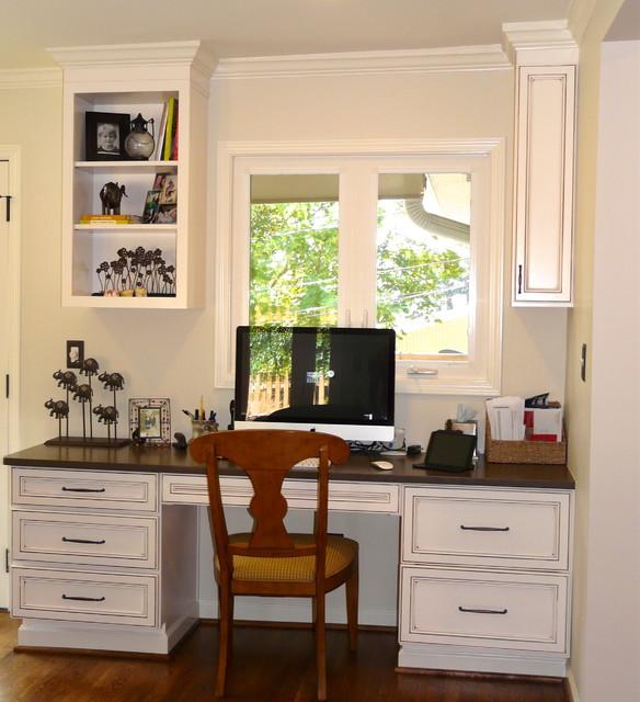 Vestavia kitchen- Lovette Construction - Transitional - Home Office - birmingham - by Jennifer ...