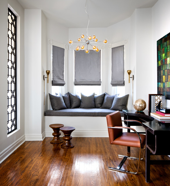 Victorian Home Contemporary Home Office Other Metro