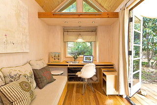 Vina's Tiny House contemporary-living-room