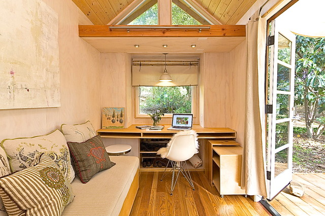 Vinas Tiny House Modern Arbeitszimmer