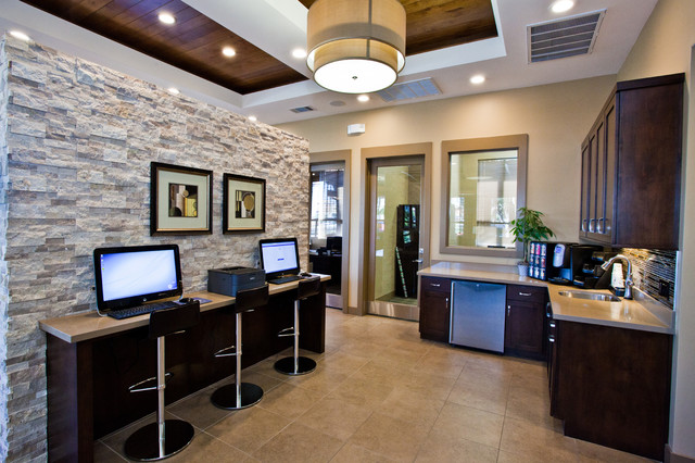 Vintage at The Lakes Cyber Cafe - Contemporary - Home Office - Las ...