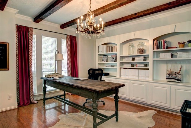 Vintage chic eclectic home office minneapolis by for Michaels furniture huntington park